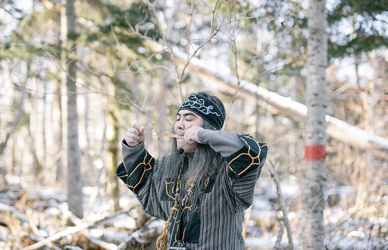 【どうみん割適用商品】阿寒アイヌ文化ガイド Anytime,Ainutime! 森の時間